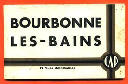 Carnet Complet De 12 CPA 52 Bourbonne Les Bains - 3 Scans - Bourbonne Les Bains