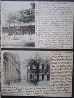 Hong Kong ? Lot 2 Cpa Timbrées Voyagées 1902 - China (Hongkong)