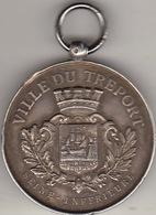 Médaille De La Société Des Régates Du Tréport 1893 - Frankrijk