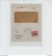 N°144  - EN RECOMMANDE BRUXELLES - MARQUE 6 DANS LOSANGE - 1920 - 1915-1920 Albert I