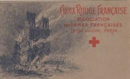 Guerre 1914:1918  Crox Rouge Francaise A/des DAMES FRANCAISES - Guerre 1914-18