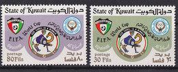 Soccer World Cup 1982 - KUWAIT - Set MNH** - Coupe Du Monde