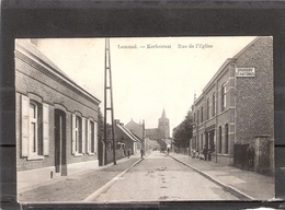 Lommel  -- Kerkstraat   Rue De L'Eglise - Lommel