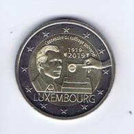 Lussemburgo - 2 Euro Commemorativo Anno 2019- 100° Anniversario Suffragio Elettorale - Lussemburgo