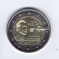 Lussemburgo - 2 Euro Commemorativo 2019 - Voto - Lussemburgo