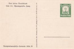 Entier Illustre Neuf 1934/35 Wernigerode 237.1 - Alemania