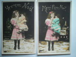 Heureux Noel  Joyeux Noel  4 Cartes Differentes - Altri