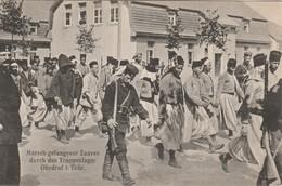 Guerre 1914:1918 PRISONNIERS ARRIVEE AU CAMP ALLEMAGNE - War 1914-18