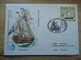 GERMANY COVER FDC  SHIPS IBRA 99 POSTMARK SHIPS - Ships