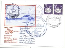YT 698 Hélicoptère - Courrier Par Hélicoptère - Posté à Bord Du Polarstern - 10/05/1985 - [7] Repubblica Federale