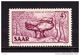 SARRE, MI 286, YT 289 ** MNH. (4A164) - 1947-56 Occupation Alliée