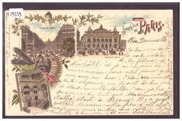 PARIS - LITHO  - TB - Cartas Panorámicas