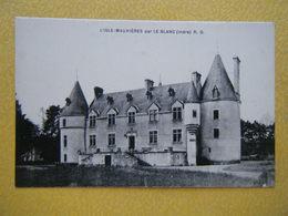 MAUVIÈRES. Le Château De L'Isle Mauvières. - France