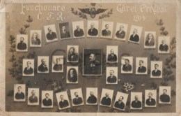 Romania - Predeal - Functionarii Garii CFR - 1914 - Restored Postcard - Fotografía