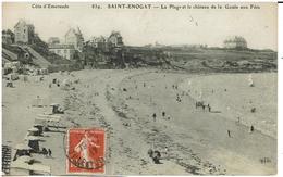CPA - 35 - SAINT ENOGAT - La Plage Et Le Château De La Goule Aux Fées - - Altri Comuni