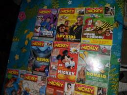 Mickey Le Journal De Mickey Lot De 14 Bd Lot N°5 - Lots De Plusieurs BD