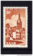 SARRE, MI 296, YT 276 ** MNH. (4A156) - 1947-56 Occupation Alliée