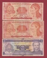 Honduras 3 Billets Dans L 'état Lot N °3 (88) - Honduras