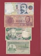 Autres-Amérique  4 Billets Dans L 'état Lot N °1 (89) - Billetes