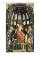 Cpm - ANDREA MANTEGNA - La Vierge Et L'Enfant - Adam Et Eve Fruits Pomme Poire - Vergine Maria E Madonne