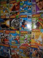 Mickey Le Journal De Mickey Lot De 22 Bd Lot N°3 - Lots De Plusieurs BD