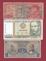 Autres-Amérique  3 Billets Dans L 'état Lot N °3- (91) - Billetes