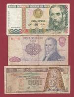 Autres-Amérique  3 Billets Dans L 'état Lot N °4  (92) - Billets