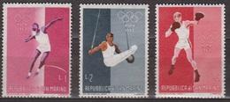 Sports Olympiques - SAN MARINO - SAINT MARIN - Lancer Du Poids, Gymnastique, Boxe  - N° 489-490-492 ** - 1960 - San Marino