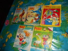 Mickey Le Journal De Lot De 5 Bd 1393/1399/1398/1396/1383 - Lots De Plusieurs BD