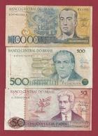 Brésil   3 Billets Dans L 'état Lot N °1  (94) - Brasilien