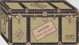 ANVERS DANS UNE VALISE / CARTE SYSTEME - SYSTEEMKAART Edit Marco Marcovici - Antwerpen