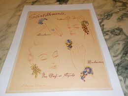 ANCIENNE PUBLICITE  JOAILLIER VAN CLEEF & ARPELS MAUBOUSSIN 1943 - Bijoux & Horlogerie