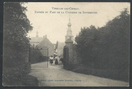 +++ CPA - VIRELLES LEZ CHIMAY - Entrée Du Parc De La Comtesse De Sousberghe  // - Chimay