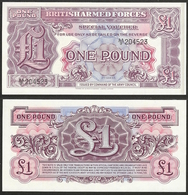 UK - 1 Pound 2nd Series British Armed Forces ND (1948) P# M22 - Edelweiss Coins - Emisiones Militares