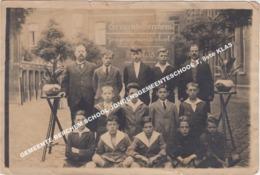 FOTO GEMEENTE BERCHEM SCHOOL JONGENSGEMEENTESCHOOL 1, 8ste KLAS - Antwerpen