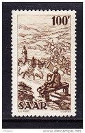 SARRE, MI 288, YT 262 * MH. (4A148) - 1947-56 Occupation Alliée