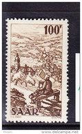 SARRE, MI 288, YT 262 ** MNH. (4A147) - 1947-56 Occupation Alliée