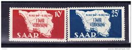 SARRE, MI 260/1 ** MNH. (4A140) - 1947-56 Occupation Alliée