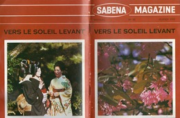 SABENA MAGAZINE - VERS LE SOLEIL LEVANT - N° 92 - 1970 - Aviation