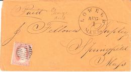 USA - Lowell Mass - Wolf - Lupus - Cover - Stamps