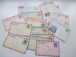 Kuba / Cuba 1975 - 1982 Air Mail Letter / Aerogramme In Die DDR 18 Belege Luftpost - Luftpost