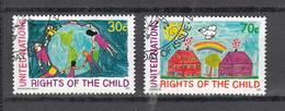 NATIONS  UNIES  NEW-YORK    1991     N°   591-592   OBLITERES   CATALOGUE YVERT&TELLIER - New-York - Siège De L'ONU