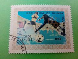 REPUBLIQUE DE GUINEE EQUATORIALE - GUINEA - Timbre - Thème : Sports, Football - Äquatorial-Guinea