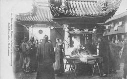 CHINE - Petits Métiers Chinois - Le Diseur De Bonne Aventure - Small Chinese Pedlars - The Chiromancer - China