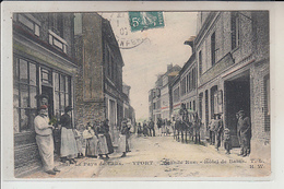 76  - YPORT -   Grande Rue  - Hôtel Des Bains..1907 - Yport