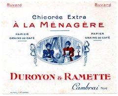 Buvard Chicorée Duroyon Et Ramette à Cambrai. - Café & Thé