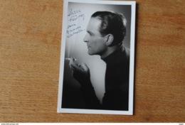 Photographie Dédicacée  Par PIERRE FRESNAY  Acteur - Handtekening