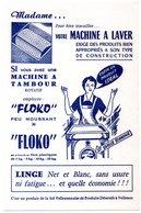 Buvard Floko, Lessive Pour Machines à Laver. - Produits Ménagers