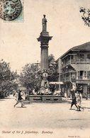 BOMBAY Statue Of Sir J. Jeejeebhoy - India