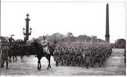 Cpm Paris - Place De La Concorde 14 Juillet 1918 / Prise D'armes Fête Nationale Avec Les Troupes Alliées Polonaises. - Guerre 1914-18